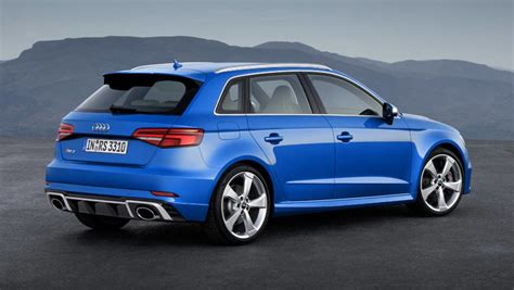 2018 audi rs3 sportback charges into geneva car news
