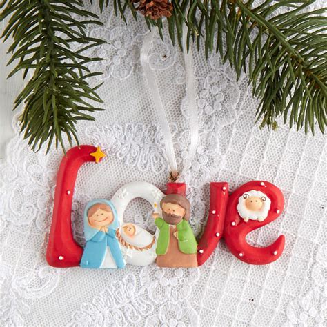 christmas love family crafts holy family quot quot ornament on sale crafts