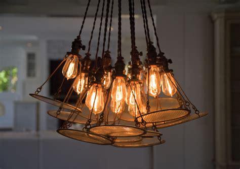 Edison Style Dining Room Lighting Custom Edison Bulb Vintage Headl Chandelier