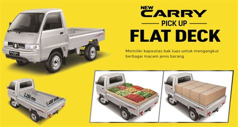 Karpet Mobil Carry promo dp murah suzuki carry up 2018 di