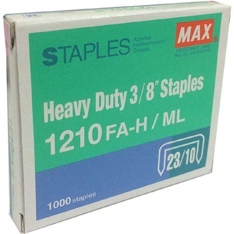 Diskon Staples Max 1210fa H max heavy duty 3 8 quot staples 1210fa h ml