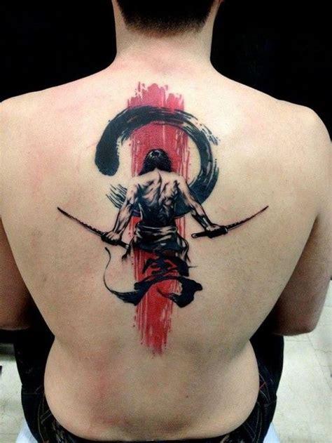tattoo back warrior 30 masculine upper back tattoo designs for men amazing
