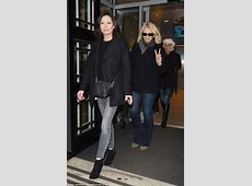 Bananarama wrap up as they leave Radio 2 studios in London ... Siobhan Fahey