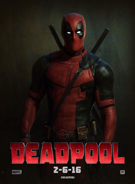 deadpool poster new deadpool poster and teaser image