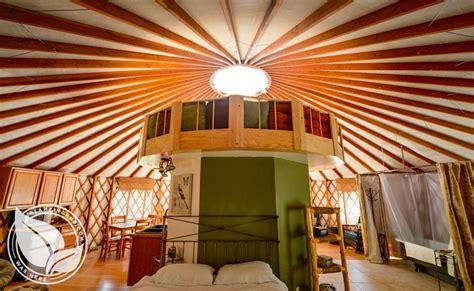 Alberta Comfort Camping Yurt Rental Northern California Camping Yurt California