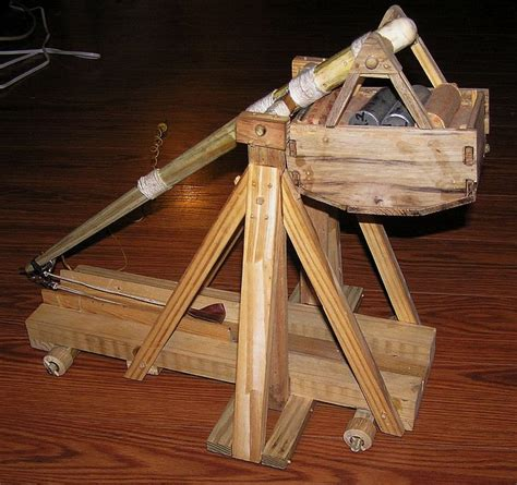 swinging counterweight trebuchet trebuchet quot mammoth quot by jim55 lumberjocks com