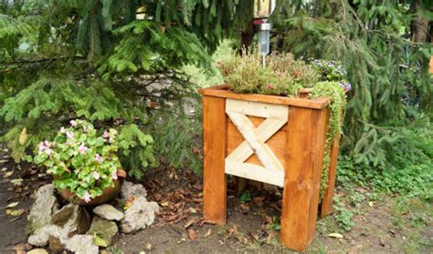 Outdoor Planter Boxes Plans by How To Build An Outdoor Planter Box Howtospecialist