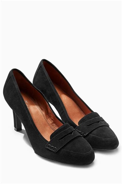next comfort shoes next forever comfort suede loafer court shoes shopstyle