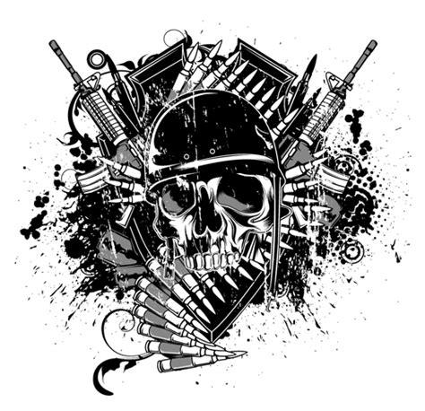 war design elements illustration vector graphic