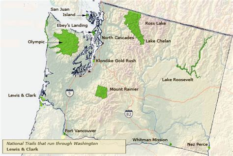service washington state united states national park service areas in washington state