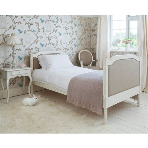 bed in french provencal linen single bed french bedroom company