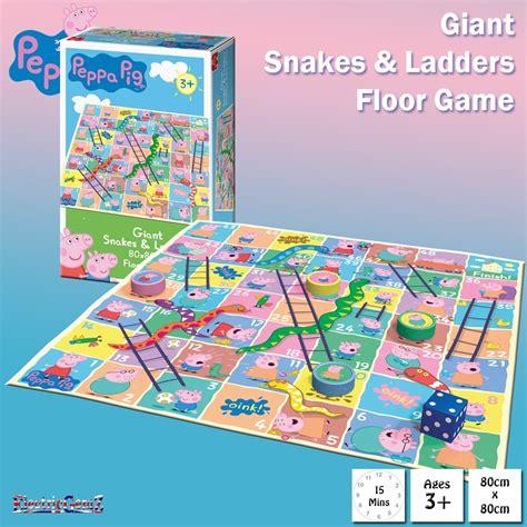 Floor Snakes And Ladders by Peppa Pig Snakes Ladders Floor Board