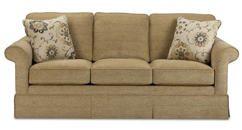 traditional sofas with skirts traditional sofa with kick pleat skirt by craftmaster