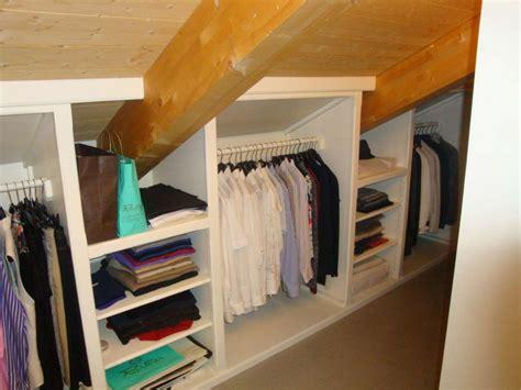 foto cabina armadio mobili per mansarde foto design mag