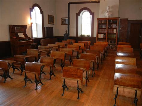 One Room Schoolhouse by One Room Schoolhouse Restorers Reminisce About Class In