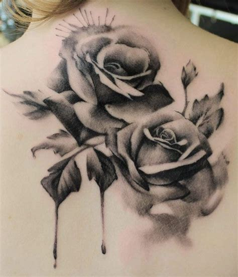 watercolor tattoo black and white 40 roses tattoos inkdoneright