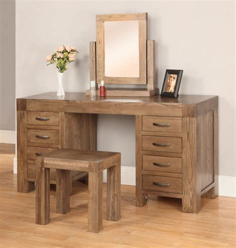 Bedroom Furniture Sets With Dressing Table Sandringham Solid Oak Bedroom Furniture Dressing