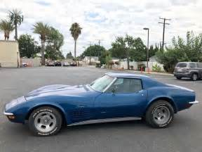 corvettes on ebay 1970 corvette garage find corvette