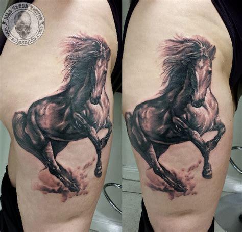 tattoo tribal cheval tatouage r 233 aliste cheval par sile sanda