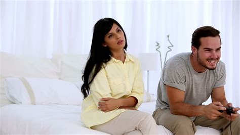 Bedroom To Play With Your Boyfriend Asian Fed Up As Boyfriend Ignores At Home In