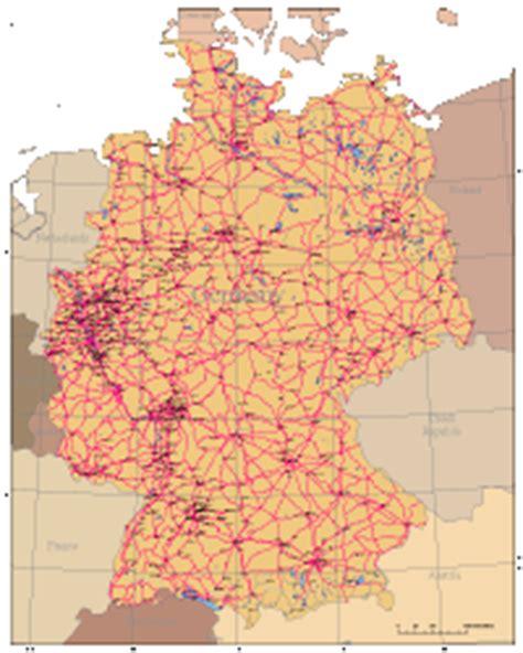 germany digital vector maps download editable