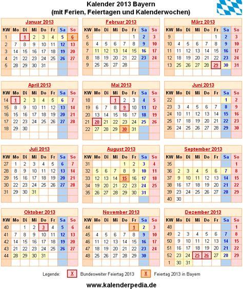 Kalender 2021 Bayern Ferien Bayern 2013 220 Bersicht Der Ferientermine