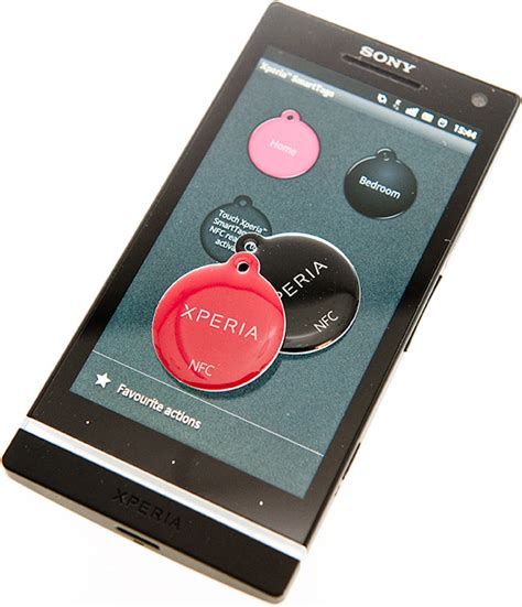 sony mobile nfc sony mobile nfc xperia smarttags review esato