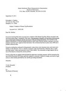 hoa architectural violation letter pictures to pin on