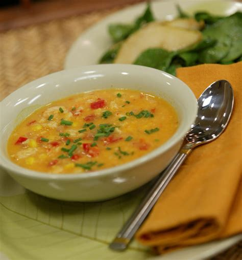Dinner In 15 Corn And Crab Soup by Recipe Corn And Crab Soup California Cookbook