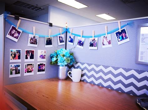 diy desk glam give your cubicle office or work space a the beetique desk glam diy polaroid photos