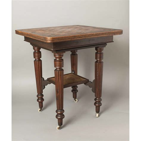 Table Folsom by Folsom Prison Made Parquetry Table Witherell S