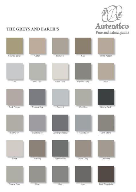 autentico chalk paint colour chart 137 best images about paint on paint