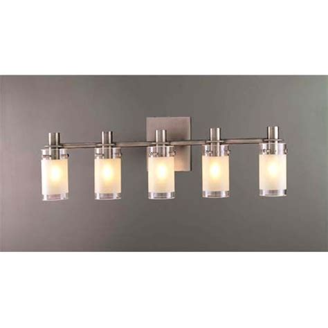 5 light bathroom fixtures pierce ii five light bath fixture george kovacs 5 or more