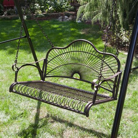 aluminum porch swing metal porch swings yard swing bistrodre porch and