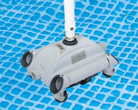 Aspirateur De Fond Piscine 538 by Intex 28001 Robot Piscine Nettoyeur Aspirateur Fond Hors
