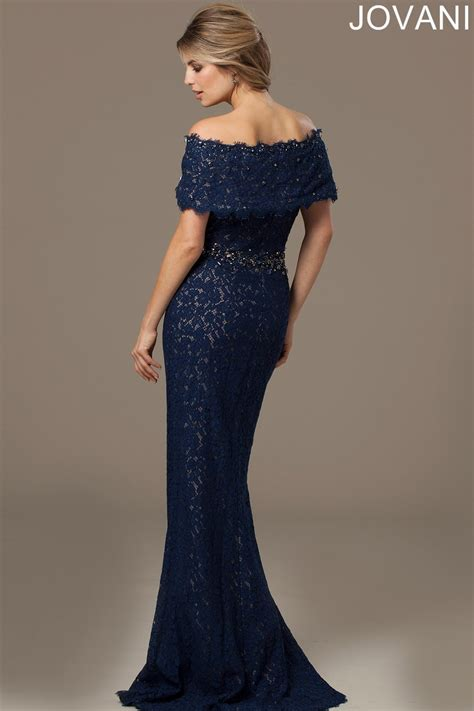 Evening Gowns by Jovani 98026 Evening Dress The Shoulder