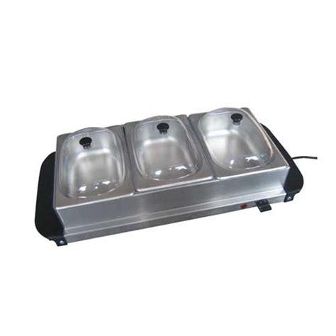 China Small Buffet Server & Warming Tray (MS 538)   China 3 Tier Buffet Server, Buffet Warming Tray