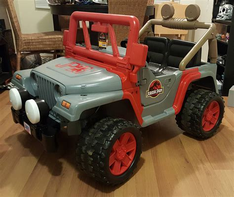 power wheels jeep white jurassic park vehicles for sale vehicle ideas