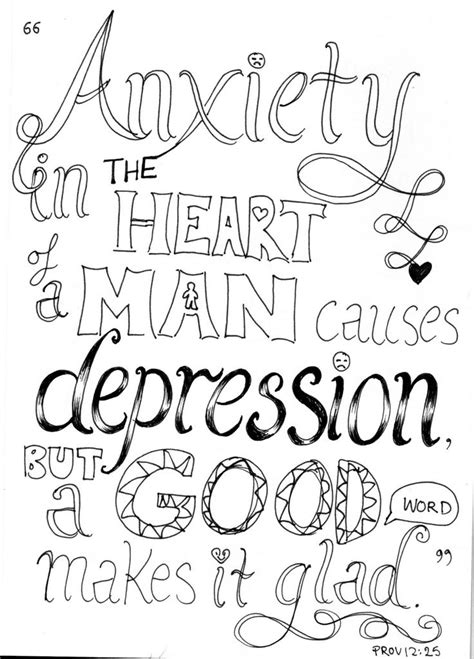 printable depression quotes bible quote coloring pages 561868