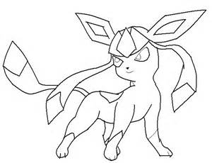 Pokemon Coloring Pages Leafeon Wallpapers sketch template