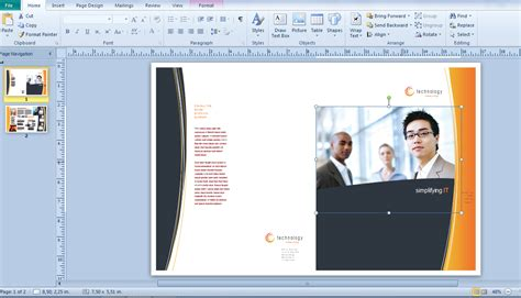 cara membuat brosur dengan open office membuat brosur dengan microsoft office publisher 2010
