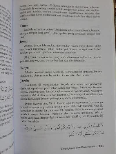 1 Set Kitab Tauhid Syaikh Ustaimin buku jawab atas kitab tauhid