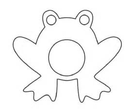 Free Printable Frog Templates by Frog Template For Clipart Best