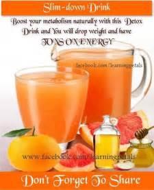Apple Cider Vinegar Burning Detox Drink by Burning Drink With Apple Cider Vinegar