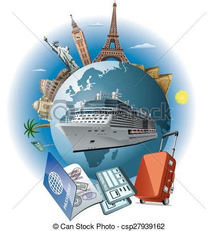 barco crucero dibujo barco viaje crucero vector clip art buscar dibujos e