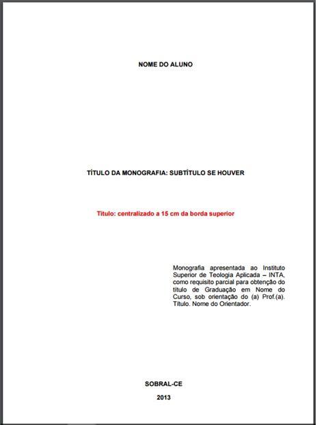 Abnt Tcc Como Requisito Parcial Para Obtenção Do Grau Mba by Regras Abnt Atualizadas Para Tcc E Monografias 2018
