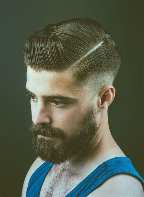 british men modern hairstyles razor part o corte de cabelo masculino do momento