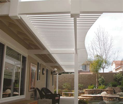 Patio Covers Simi Valley Vinyl Picket Patio Covers Solid Patio Covers Los Angeles