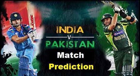 india vs pak india vs pakistan prediction t20 world cup who will win