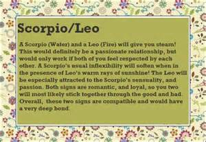 leo scorpio friendship compatibility
